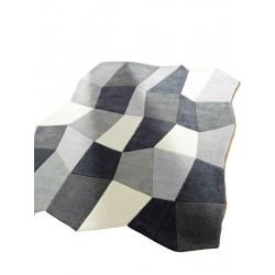 CUBE -  koberec s kosočtverci